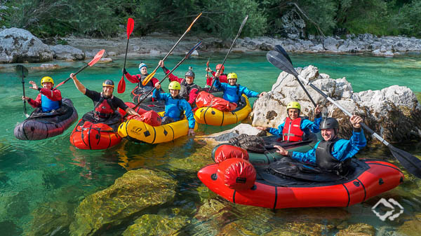 Whitewater Packrafting Trainings Soca